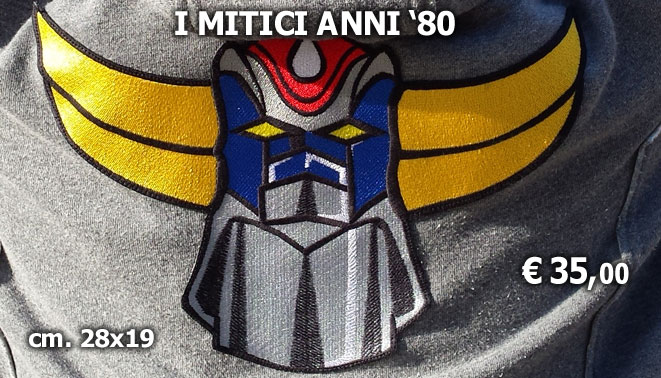 MYPATCH toppe ricamate personalizzabili