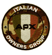 Italian APX Owners Group (BV) 5cm.