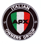 Italian APX Owners Group 5 cm.