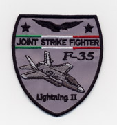 F 35 LIGHTNING II scudetto