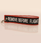 Portachiavi Remove Before Flight (fettuccia)