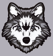 WOLF BACK PATCH